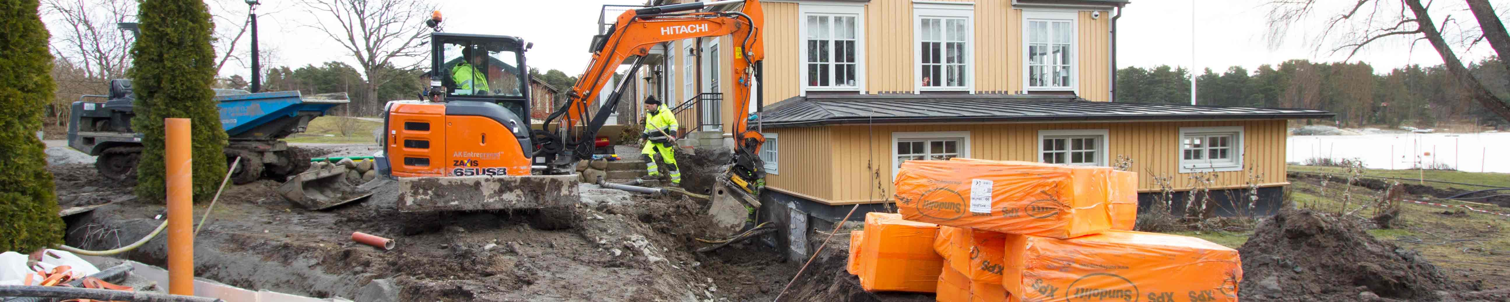 Anläggningsarbeten Stockholm